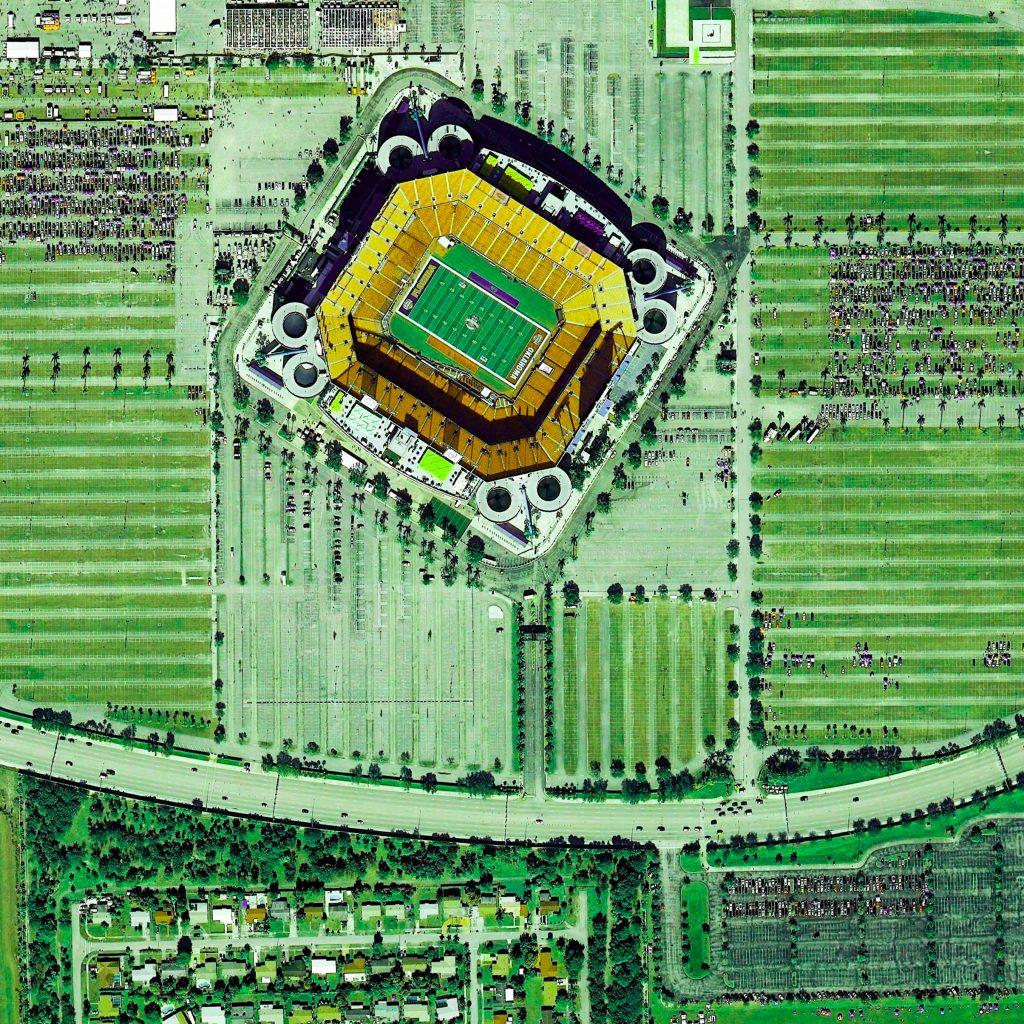 Hard Rock Stadium Miami Gardens Florida Usa