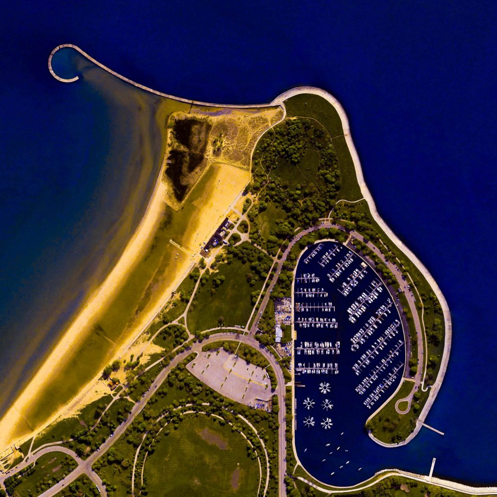 Montrose Beach, Chicago, Illinois, USA